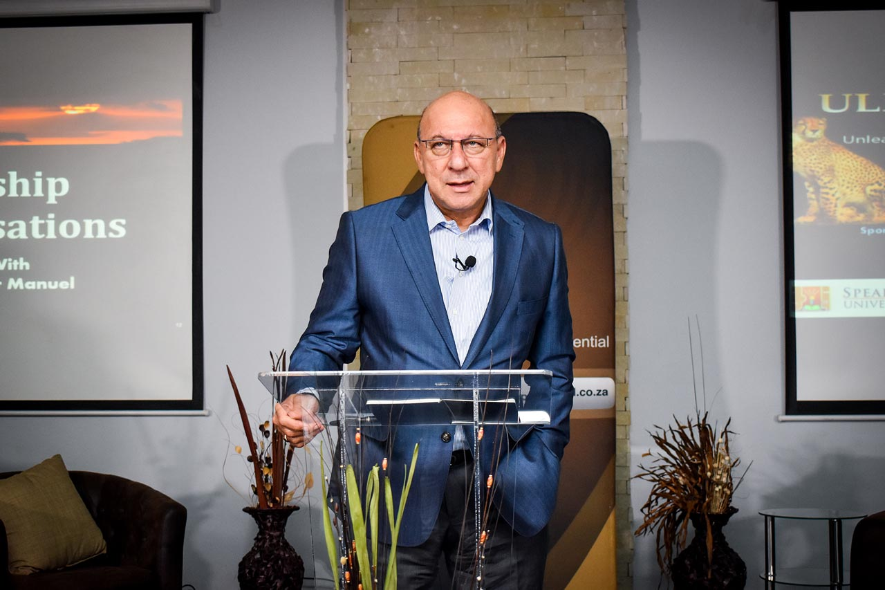ULP Trevor Manuel Speaks about identity and building teams more